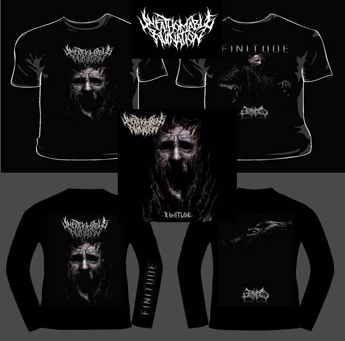 UNFATHOMABLE RUINATION- CD, SHIRTS PRE-ORDERS AVAILABLE NOW!!!!