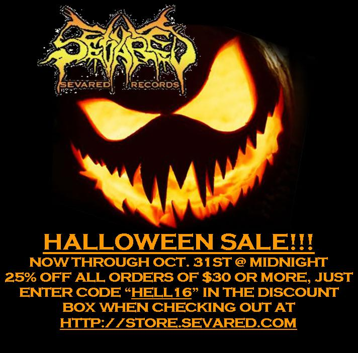 HALLOWEEN SALE 25% OFF ALL ORDERS OF $30 OR MORE!!!