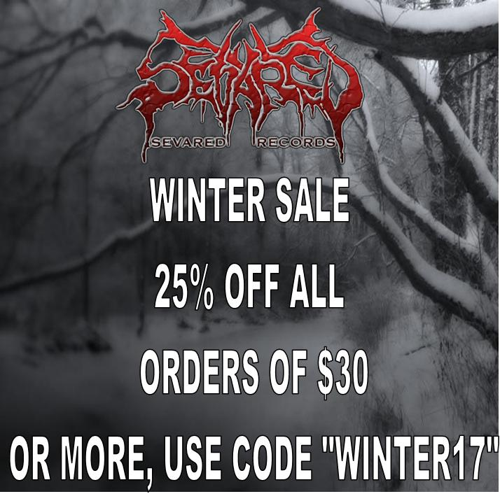 WINTER SALE 25% OFF ALL ORDERS OF $30.00 OR MORE!!!