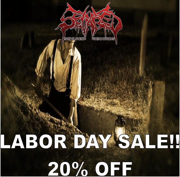 LABOR DAY SALE 20% OFF ALL ORDERS OF $30 OR MORE!!